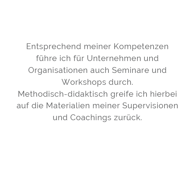 Schmidt Coaching Supervision und Organisationsberatung Berlin Mobil Seminare & Workshops